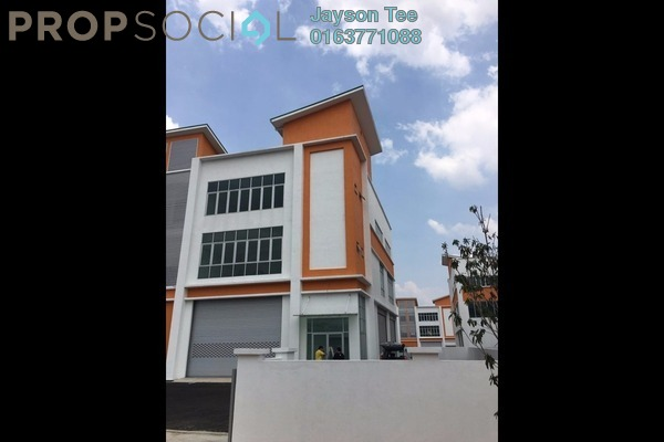For Rent Factory at Pusat Perindustrian Sungai Chua, Kajang Freehold Unfurnished 0R/0B 15k