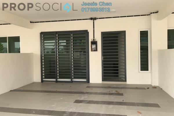 For Rent Terrace at Dextora, Bandar Sri Sendayan Freehold Semi Furnished 4R/4B 1.2k