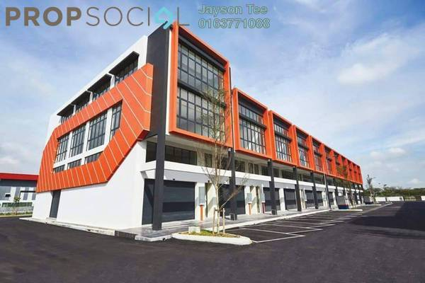 For Sale Factory at Berjaya Park, Shah Alam Freehold Unfurnished 0R/0B 1.85m