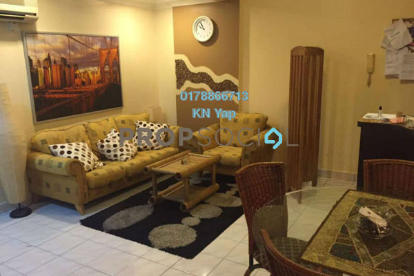 For Rent Condominium at Puncak Prima, Sri Hartamas Freehold Fully Furnished 3R/2B 2.5k