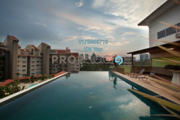 For Rent Serviced Residence at Peninsular Residence, Damansara Heights Freehold Fully Furnished 2R/2B 2.4k