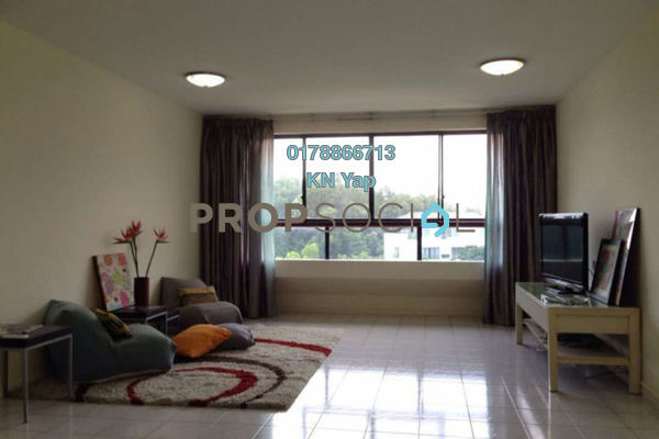 For Rent Condominium at Mont Kiara Pines, Mont Kiara Freehold Fully Furnished 3R/2B 3k