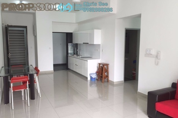 For Rent Condominium at Glomac Centro, Bandar Utama Leasehold Semi Furnished 3R/2B 1.8k