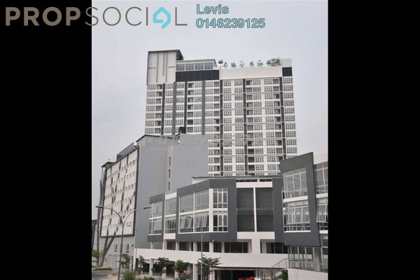 For Rent Condominium at C180, Cheras South Freehold Semi Furnished 2R/2B 1.5k
