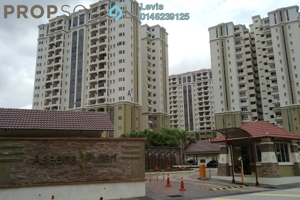 For Rent Condominium at Aseana Puteri, Bandar Puteri Puchong Freehold Fully Furnished 3R/2B 1.8k