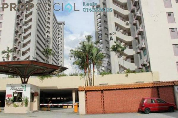 For Rent Apartment at Seri Cendekia Apartment, Cheras Freehold Fully Furnished 3R/2B 1.5k