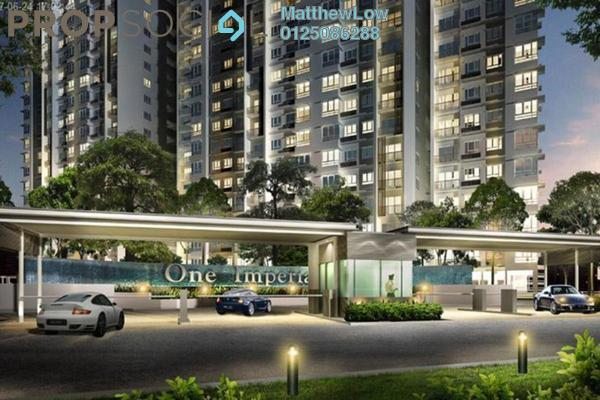 For Rent Condominium at One Imperial, Sungai Ara Freehold Semi Furnished 3R/2B 1.4k