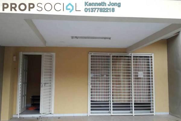 For Rent Terrace at Indah Elite, Kota Kemuning Freehold Semi Furnished 4R/4B 1.55k