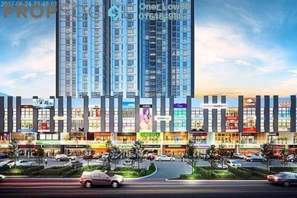 For Rent Shop at Promenade Residence, Bayan Baru Freehold Unfurnished 0R/0B 2.5k