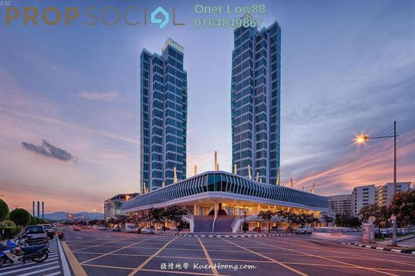 For Sale Condominium at The Maritime, Jelutong Freehold Fully Furnished 2R/2B 919k