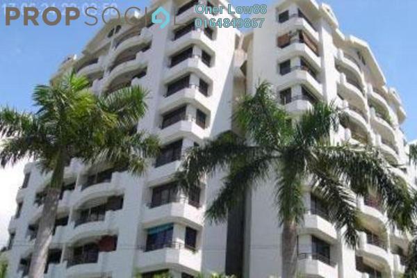For Sale Condominium at Sri Saujana Apartment, Georgetown Freehold Semi Furnished 3R/2B 220k