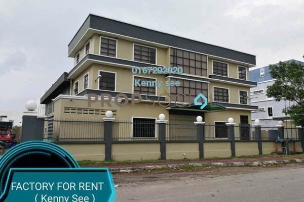 For Rent Factory at BP2, Bandar Bukit Puchong Freehold Unfurnished 0R/8B 35k