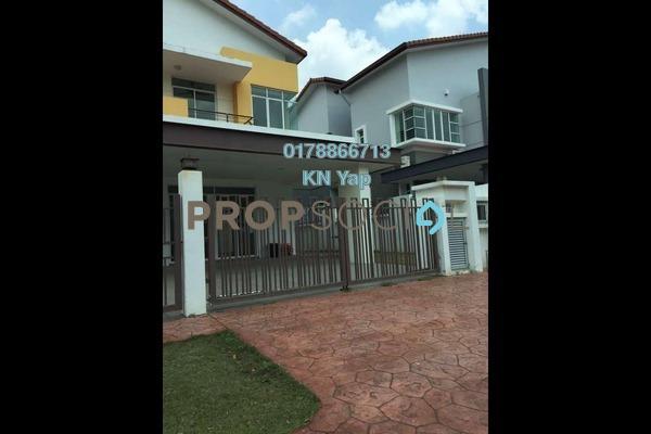 For Rent Semi-Detached at Setia Damai, Setia Alam Freehold Semi Furnished 5R/5B 2.8k