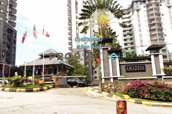 For Sale Condominium at Amadesa, Desa Petaling Freehold Semi Furnished 3R/2B 430k