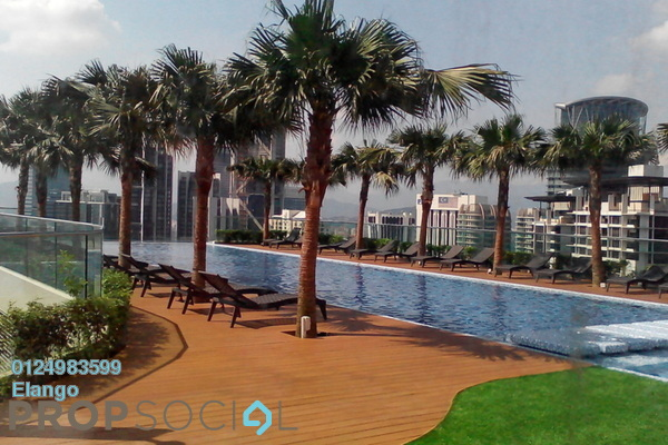 For Sale Condominium at Quadro Residences, KLCC Freehold Unfurnished 4R/4B 2.4m
