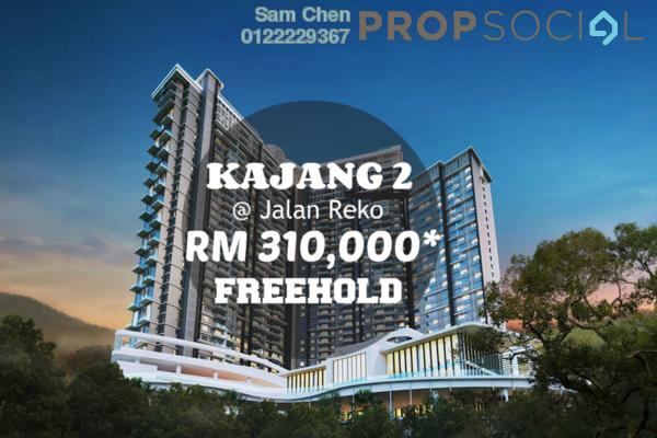 For Sale Condominium at Taman Bangi, Kajang Freehold Unfurnished 3R/2B 310k