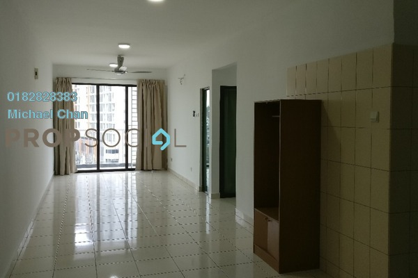 For Rent Condominium at Indah Alam, Shah Alam Freehold Semi Furnished 3R/2B 1.4k