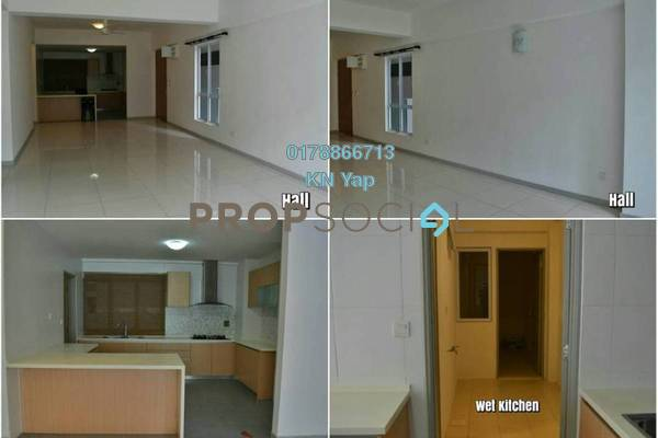 For Rent Condominium at Villa Orkid, Segambut Freehold Semi Furnished 4R/4B 2k