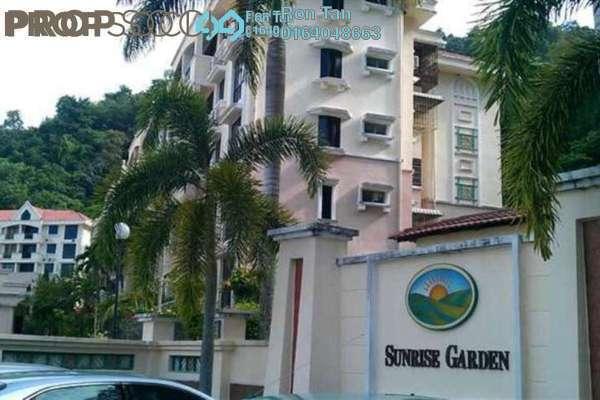 For Sale Condominium at Sunrise Garden, Sungai Ara Freehold Fully Furnished 3R/2B 637k