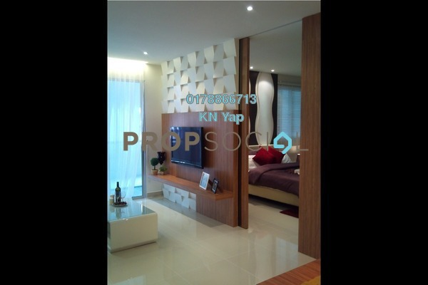 For Sale Serviced Residence at Maxim Residences, Cheras Leasehold Unfurnished 2R/2B 468k