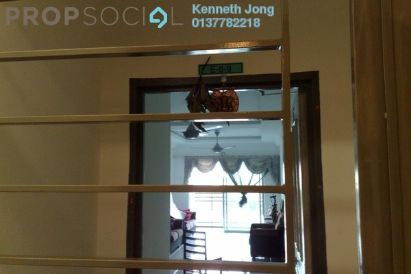For Sale Apartment at Damai Apartment, Shah Alam Freehold Semi Furnished 3R/2B 429k
