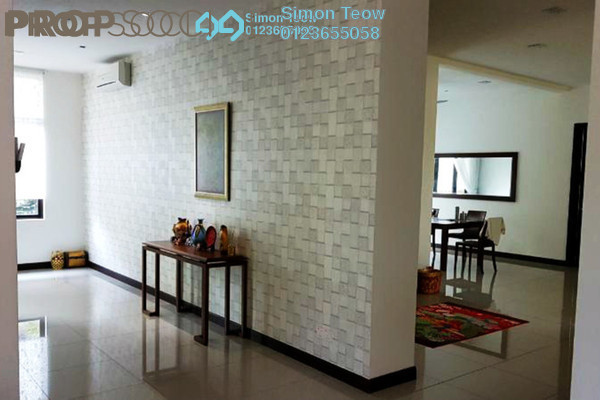 For Sale Bungalow at Setia Eco Park, Setia Alam Freehold Semi Furnished 4R/5B 2.8m