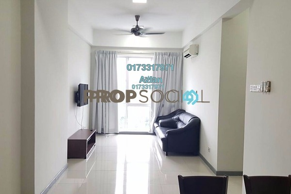 For Rent Apartment at Residensi Gombak 126, Setapak Freehold Fully Furnished 3R/2B 2.2k