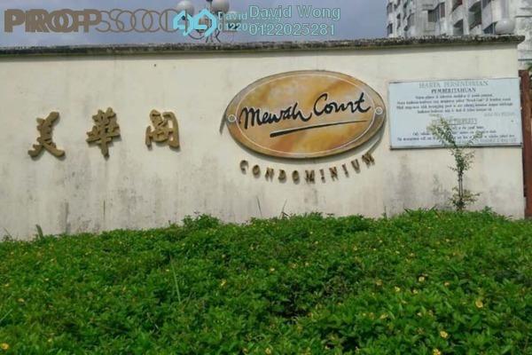 For Rent Condominium at Mewah Court, Kajang Freehold Semi Furnished 3R/2B 1k