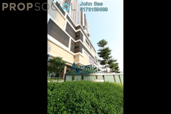 For Sale Condominium at Avantas Residences, Old Klang Road Freehold Semi Furnished 2R/2B 700k