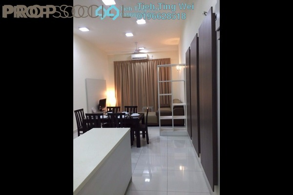For Rent Condominium at Vue Residences, Titiwangsa Freehold Fully Furnished 3R/2B 3k