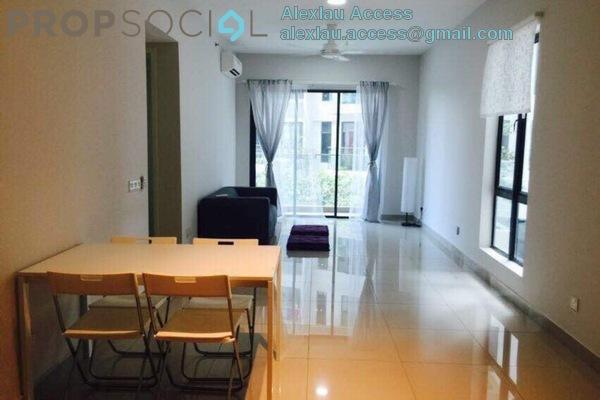 For Rent Condominium at Univ 360 Place, Seri Kembangan Freehold Semi Furnished 3R/2B 1.8k