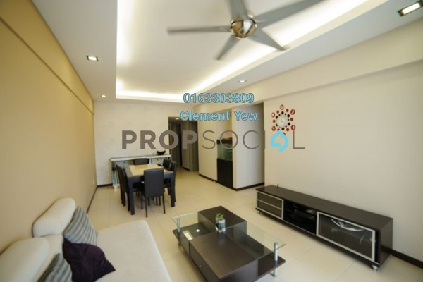 For Sale Condominium at Plaza Medan Putra, Bandar Menjalara Freehold Semi Furnished 3R/2B 450k