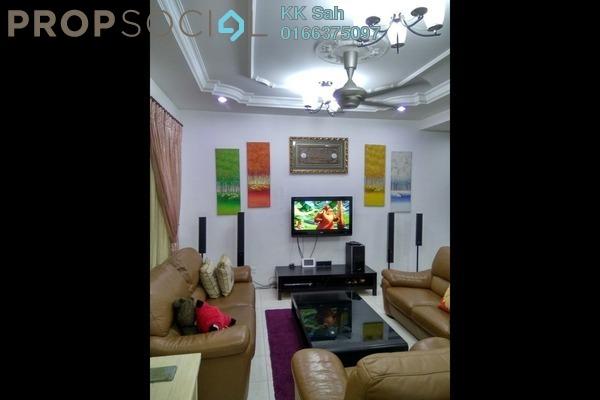 For Sale Link at Section 4, Bandar Mahkota Cheras Freehold Semi Furnished 4R/3B 788k