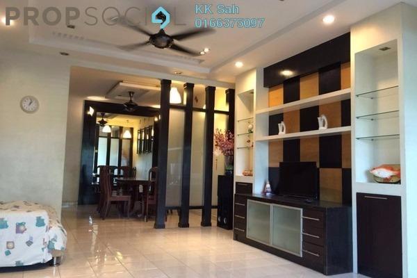 For Rent Apartment at Bandar Botanic, Klang Freehold Fully Furnished 3R/2B 1k