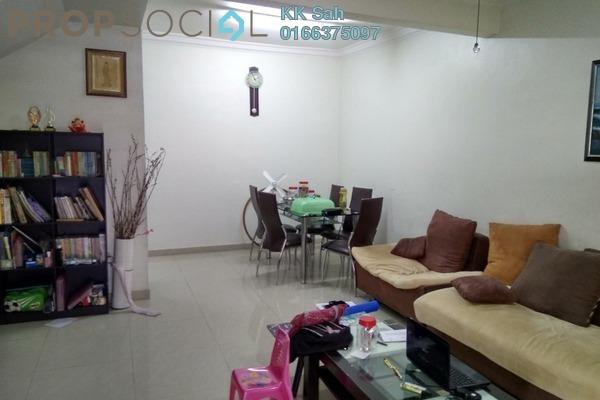 For Sale Link at Taman Pinggiran Mahkota, Bandar Mahkota Cheras Leasehold Semi Furnished 4R/3B 518k