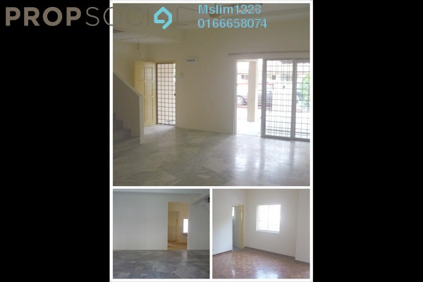 For Rent Terrace at Section 8, Bandar Mahkota Cheras Freehold Unfurnished 4R/3B 1.1k