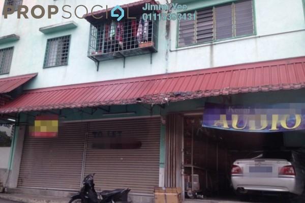 For Rent Shop at Taman Bukit Segar, Cheras Freehold Unfurnished 0R/1B 1.4k