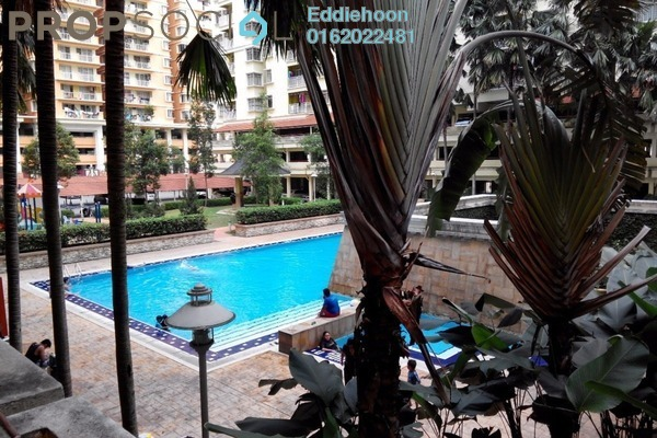 For Sale Condominium at Platinum Hill PV3, Setapak Freehold Fully Furnished 4R/2B 450k