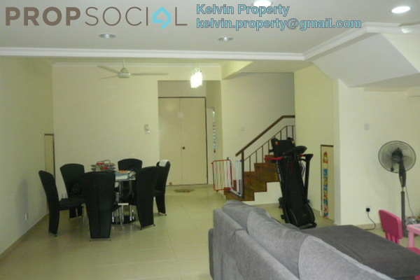 For Rent Townhouse at Mutiara Tropicana, Tropicana Freehold Semi Furnished 3R/0B 1.9k