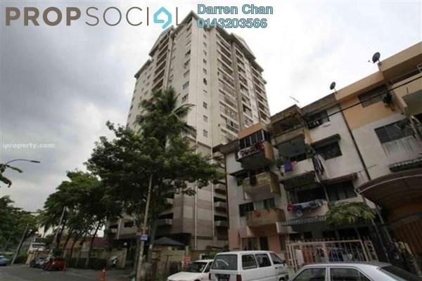 For Rent Condominium at Menara Puteri, Brickfields Freehold Unfurnished 3R/2B 1.8k