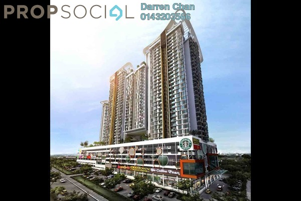 For Rent Condominium at You Residences @ You City, Batu 9 Cheras Freehold Semi Furnished 3R/2B 1.4k