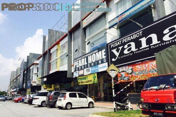 For Sale Shop at KiPark Sri Utara, Jalan Ipoh Leasehold Unfurnished 0R/8B 5.5m