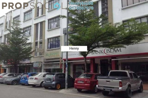 For Rent Shop at TSB Commercial Centre, Sungai Buloh Freehold Unfurnished 0R/0B 10k