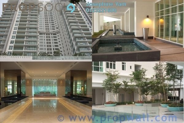 For Rent Condominium at The Pearl, KLCC Freehold Semi Furnished 4R/5B 9k