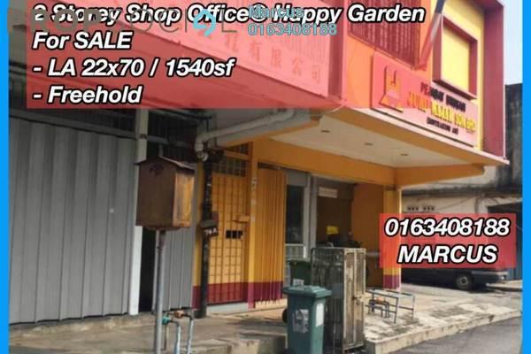For Sale Shop at Taman Kuchai Jaya, Kuchai Lama Freehold Semi Furnished 0R/1B 1.4m
