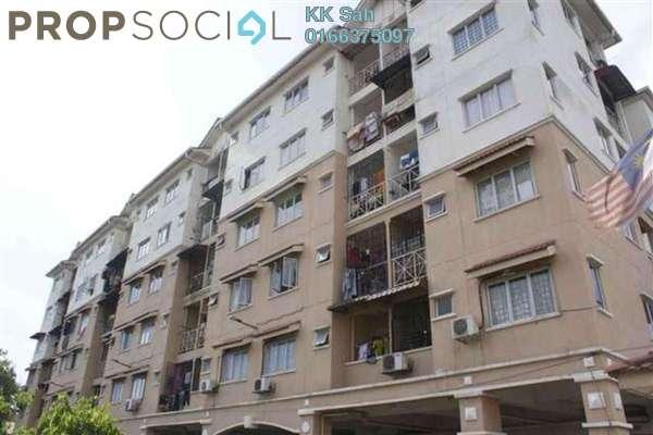 For Sale Apartment at Seri Suria Apartment, Kota Kemuning Leasehold Semi Furnished 3R/2B 218k
