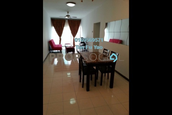 For Rent Condominium at Puri Aiyu, Shah Alam Freehold Fully Furnished 3R/2B 1.4k