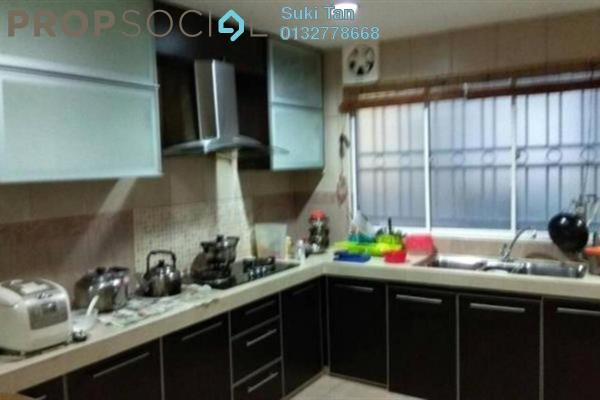For Rent Terrace at Taman Megah, Kepong Freehold Semi Furnished 4R/3B 2.2k