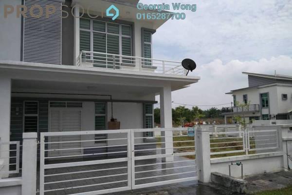 For Rent Semi-Detached at Royal Ivory 2, Bandar Saujana Putra Freehold Unfurnished 4R/3B 1.4k
