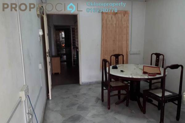 For Rent Condominium at Genting Court, Setapak Freehold Semi Furnished 3R/2B 1.1k